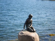 Little mermaid in Copenhagen