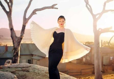 "Sarah Snook in ""The dressmaker"""