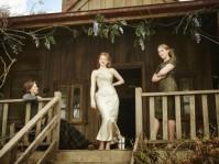 "Judy Davis, Sarah Snook and Kate Winslet in ""The dressmaker"""